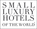 small luxury hotels of the word logo